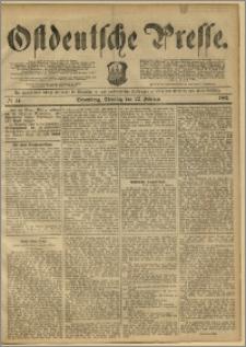 Ostdeutsche Presse. J. 11, 1887, nr 44
