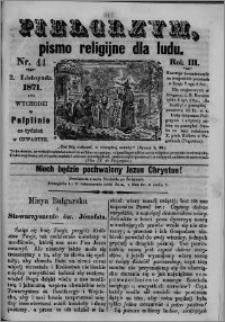 Pielgrzym, pismo religijne dla ludu 1871 nr 44