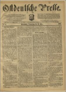 Ostdeutsche Presse. J. 11, 1887, nr 58