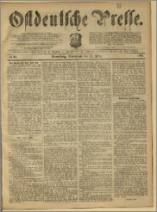Ostdeutsche Presse. J. 11, 1887, nr 60