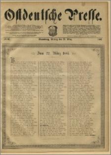 Ostdeutsche Presse. J. 11, 1887, nr 67