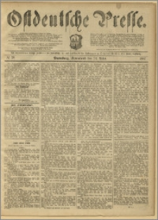Ostdeutsche Presse. J. 11, 1887, nr 72