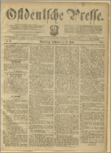 Ostdeutsche Presse. J. 11, 1887, nr 75