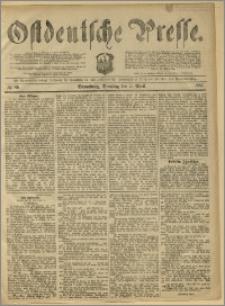 Ostdeutsche Presse. J. 11, 1887, nr 80