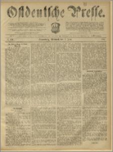 Ostdeutsche Presse. J. 11, 1887, nr 124