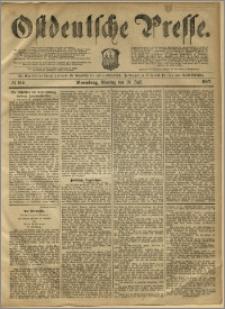 Ostdeutsche Presse. J. 11, 1887, nr 164