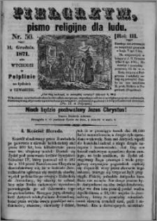 Pielgrzym, pismo religijne dla ludu 1871 nr 50