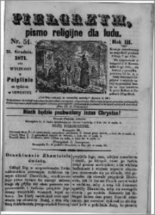 Pielgrzym, pismo religijne dla ludu 1871 nr 51