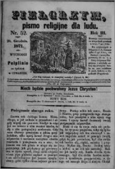 Pielgrzym, pismo religijne dla ludu 1871 nr 52