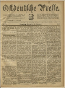 Ostdeutsche Presse. J. 11, 1887, nr 272