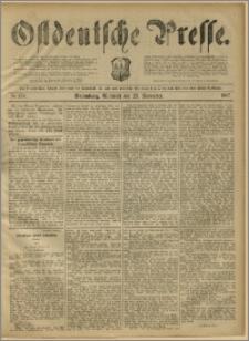 Ostdeutsche Presse. J. 11, 1887, nr 274