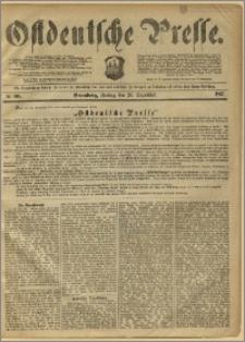 Ostdeutsche Presse. J. 11, 1887, nr 305