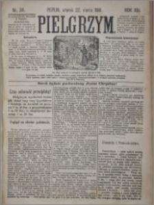 Pielgrzym, pismo religijne dla ludu 1881 nr 34