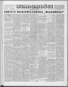 Wiadomości, R. 10 nr 33 (489), 1955
