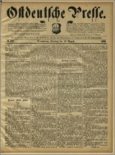 Ostdeutsche Presse. J. 13, 1889, nr 199