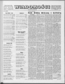 Wiadomości, R. 10 nr 41 (497), 1955