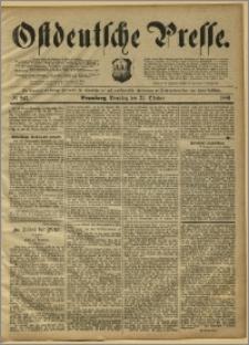 Ostdeutsche Presse. J. 13, 1889, nr 247
