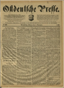 Ostdeutsche Presse. J. 13, 1889, nr 258