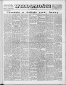 Wiadomości, R. 10 nr 43 (499), 1955