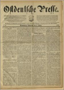 Ostdeutsche Presse. J. 15, 1891, nr 2