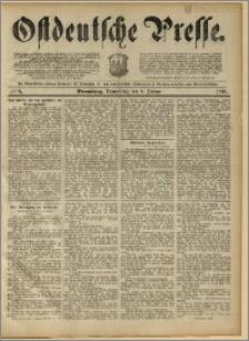Ostdeutsche Presse. J. 15, 1891, nr 6