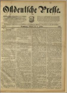 Ostdeutsche Presse. J. 15, 1891, nr 11