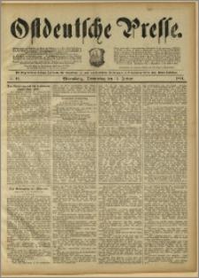 Ostdeutsche Presse. J. 15, 1891, nr 12