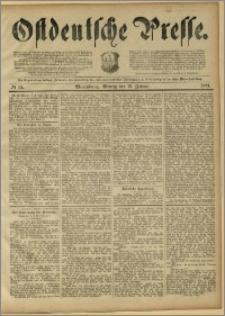 Ostdeutsche Presse. J. 15, 1891, nr 15