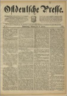 Ostdeutsche Presse. J. 15, 1891, nr 17