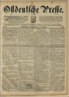 Ostdeutsche Presse. J. 15, 1891, nr 18