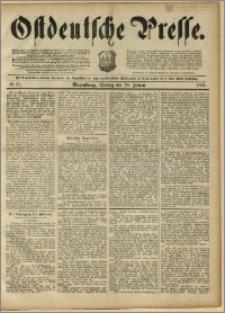 Ostdeutsche Presse. J. 15, 1891, nr 21