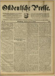 Ostdeutsche Presse. J. 15, 1891, nr 22
