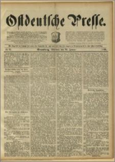 Ostdeutsche Presse. J. 15, 1891, nr 23