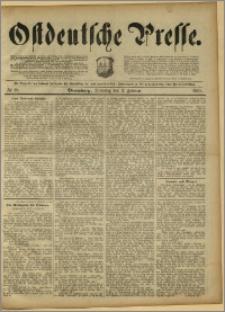 Ostdeutsche Presse. J. 15, 1891, nr 28