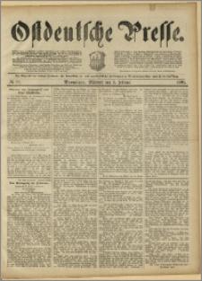 Ostdeutsche Presse. J. 15, 1891, nr 29