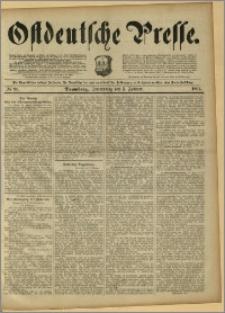 Ostdeutsche Presse. J. 15, 1891, nr 30