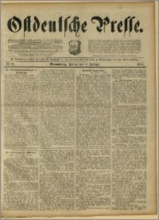 Ostdeutsche Presse. J. 15, 1891, nr 31