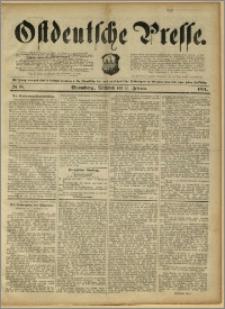 Ostdeutsche Presse. J. 15, 1891, nr 35