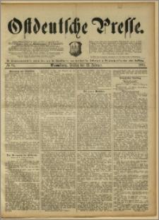 Ostdeutsche Presse. J. 15, 1891, nr 37