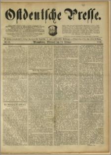 Ostdeutsche Presse. J. 15, 1891, nr 41
