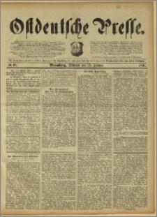 Ostdeutsche Presse. J. 15, 1891, nr 47