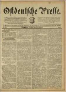 Ostdeutsche Presse. J. 15, 1891, nr 49