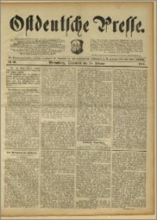 Ostdeutsche Presse. J. 15, 1891, nr 50