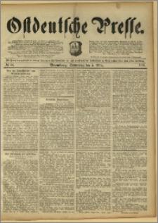 Ostdeutsche Presse. J. 15, 1891, nr 54