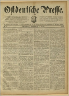 Ostdeutsche Presse. J. 15, 1891, nr 59