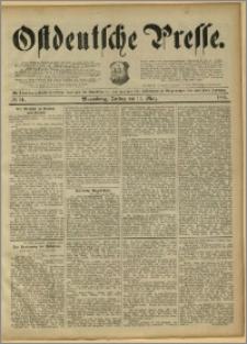 Ostdeutsche Presse. J. 15, 1891, nr 61