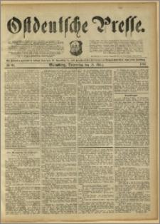 Ostdeutsche Presse. J. 15, 1891, nr 66