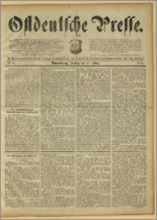 Ostdeutsche Presse. J. 15, 1891, nr 67