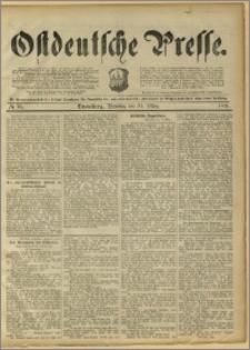 Ostdeutsche Presse. J. 15, 1891, nr 70