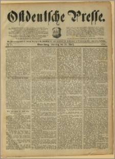 Ostdeutsche Presse. J. 15, 1891, nr 74